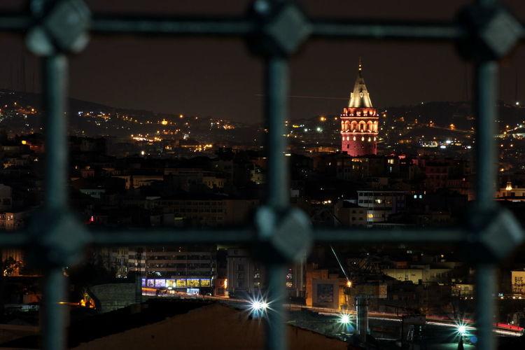 galata tower İstanbul Istanbul Turkey Istanbul Beyazıt Turkey Nigjt Streetphotography #light Tower Galata Istanbul Galata Night first eyeem photo