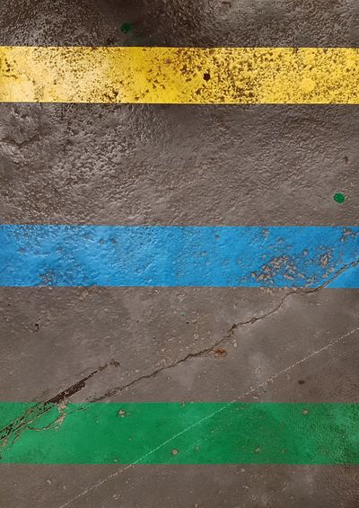 Backgrounds Background Parallel Parallel Lines Parallels Lines LINE Lines&Design Yellow Line Blue Line Green Line Asphalt Road Asphalt Background Backgrounds Yellow Textured  Full Frame Close-up Painted LINE Marking Roadways Run-down
