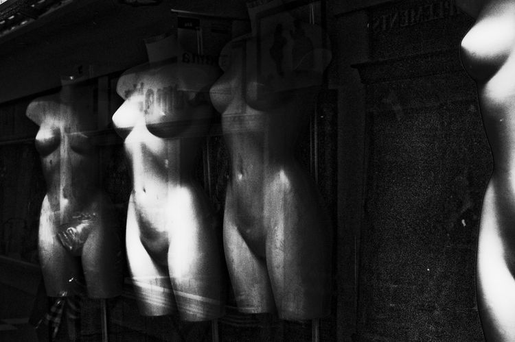 Mannequins The Street Photographer - 2016 EyeEm Awards Black And White Friday
