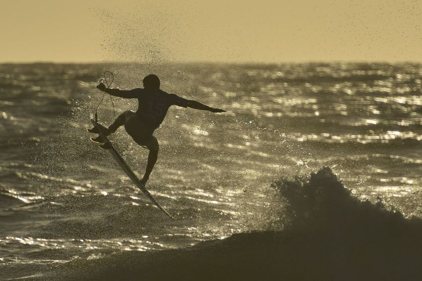 October 30; Italo Ferreira during his final run today. Back Lit Champions Dusk Ferreira Final Majestic Moche Rip Curl Pro Surfing Outdoors Portugal Riptide S Scenics Silhouette Surfing Water World Champion World Surf League Wsl Surf's Up