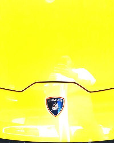 Lambo Lamborghini Aventador Yellow Lambo Lamborghini Yellow Yellow Background Backgrounds Full Frame Luxury Wealth Close-up