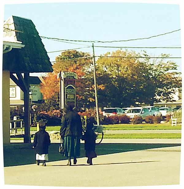 Amish Indiana Fall Amish Town