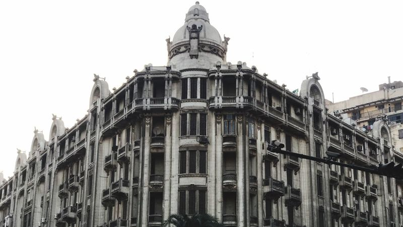 Down town _egypt Architecture Building Exterior Built Structure Travel Destinations Sky City Building History Outdoors Old No People Clear Sky The Past