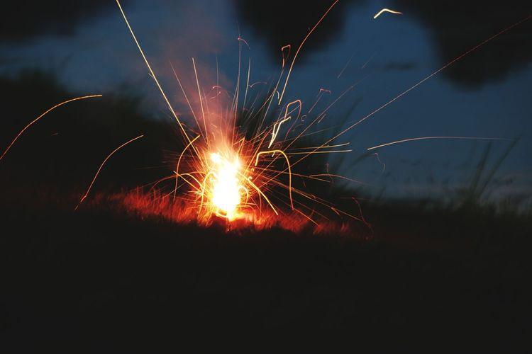 Pre-fireworks