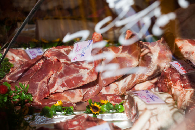 Annual Event Close-up Day Feira Livre Food Food And Drink Freshness Market Meat No People Outdoors Price Tag