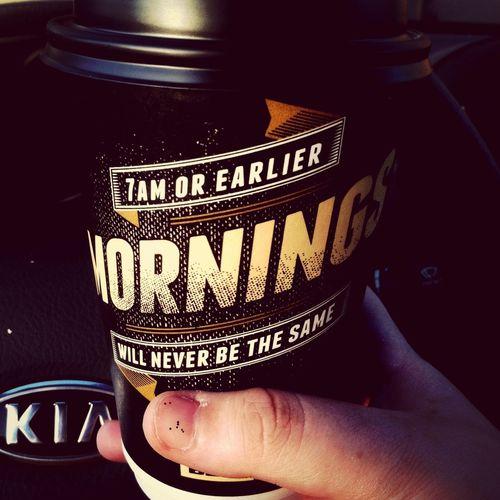 Best coffee in town I think. NoThankYouStarbucks Taco Bell Coffee Best