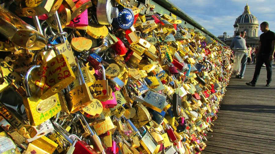 France Pont Des Arts Summer Paris Love ♥ Amour ❤