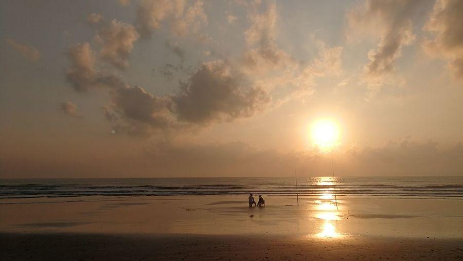 sunrise at the