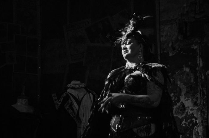 Final Variete of 2016 at the Panopticon. Black And White Burlesque Cabaret Cloads Featehrs Feminie Glasgow  Monochrome People Performing Arts Event Portrait Scotland Variety Woman