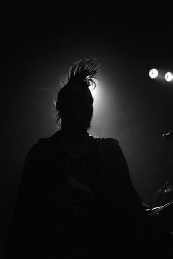 Black & White Concert Concert Photography Heavy Rock Illuminated Mohican Music Musician Night Real People Rock Silhouette EyeEmNewHere Welcome To Black The Photojournalist - 2017 EyeEm Awards Mix Yourself A Good Time Black And White Friday