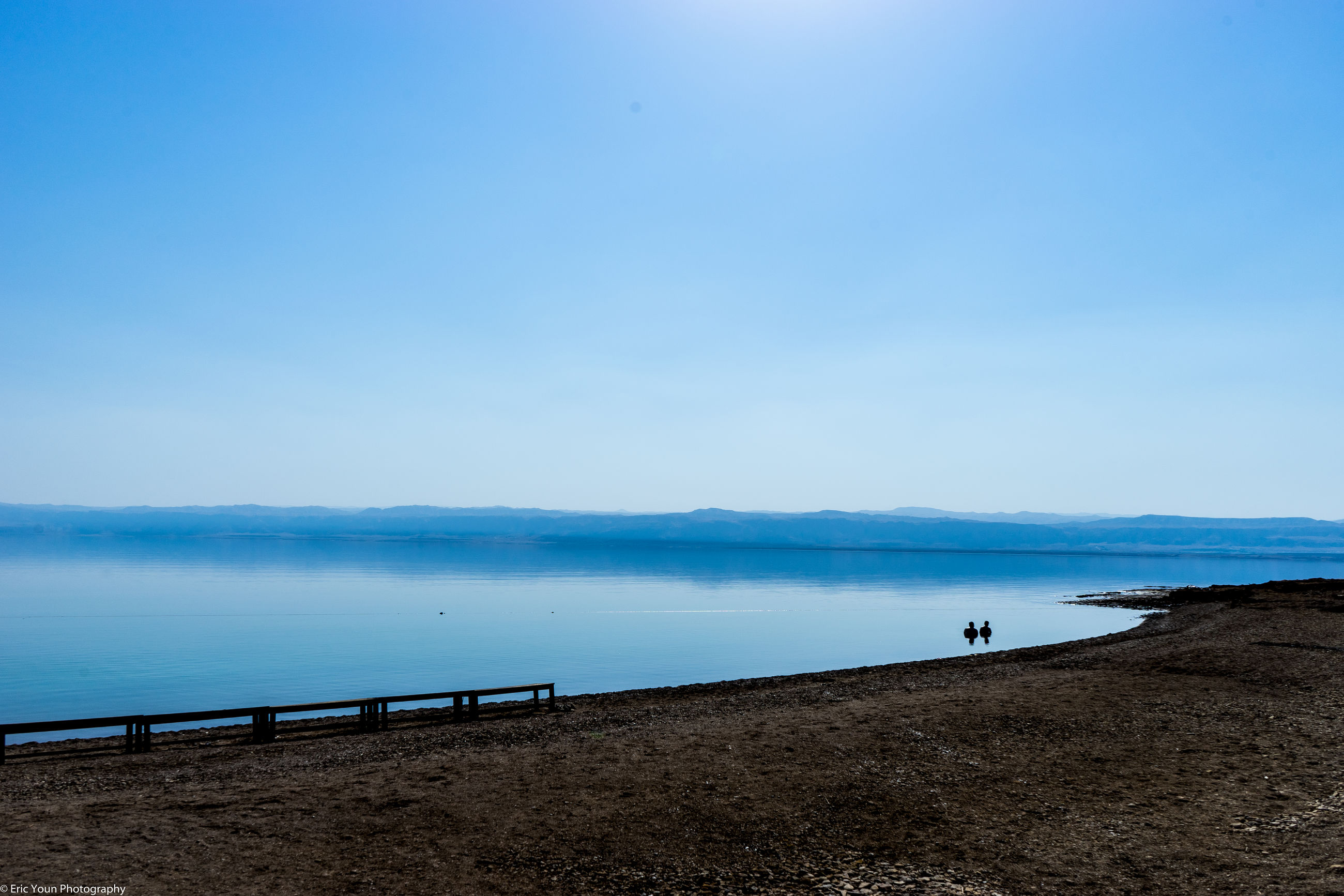 water, clear sky, copy space, sea, blue, beach, tranquil scene, tranquility, scenics, shore, beauty in nature, nature, horizon over water, sand, idyllic, incidental people, calm, coastline, outdoors, day