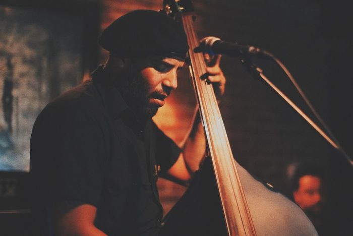 Live Music Bass Bassist Upright Bass The Piano Bar Hollywood Los Angeles, California