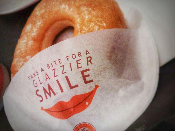 Donut Smile Goodvibes Jco Jcodonuts Foodporn Sweets