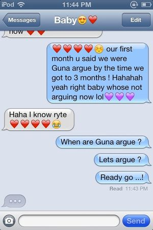 I love him ❤ and our fake arguments:))