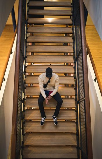 Instagram: @In.Visualz Staircase Steps And Staircases Lifestyles Steps Composition Aim High Indoors  Hotel Stairs Clothes Crativity Creative Colors Guy Canon6d Portrait Portrait Photography Portraits