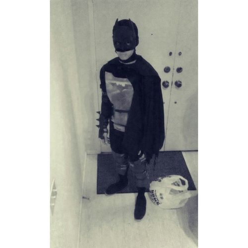 My attempt to be Batman for halloween... #thedarkknight #Batman #more #like #darthvader #cardboard #ghetto #ducttape #everywhere #Halloween Halloween Like Batman Everywhere Cardboard Ghetto More Darthvader Thedarkknight Ducttape
