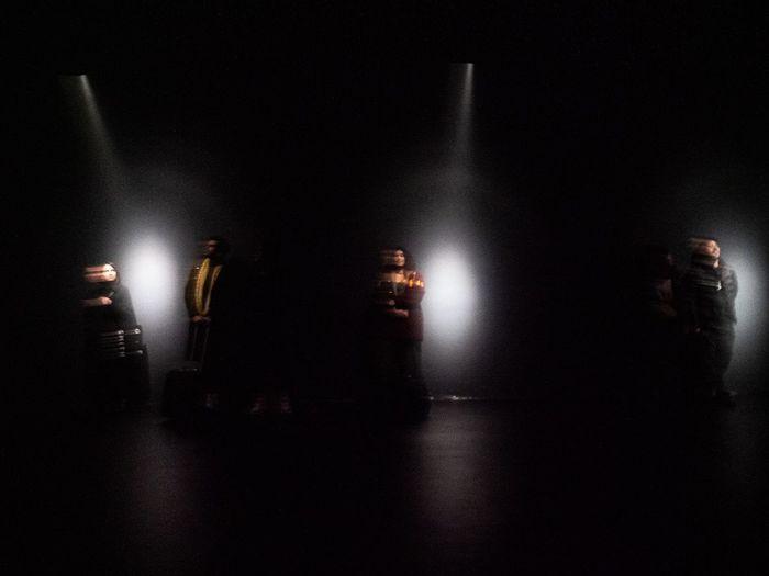Three lights -