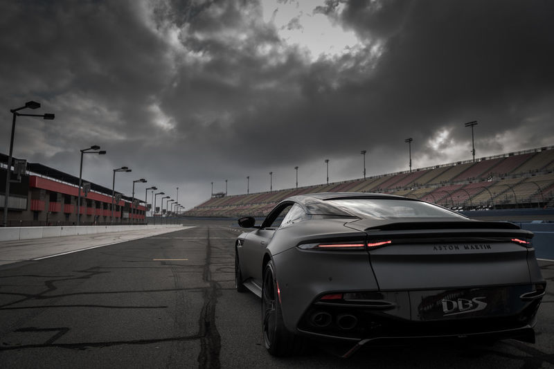 Aston Martin Superleggera Aston Martin Superleggera Automotivephotography Sportscars EyeEm Selects Auto Club Speedway NewToEyeEm Racetrack Race Competition Storm Cloud Auto Racing Thunderstorm City Car Power In Nature Destruction Storm Cloud - Sky