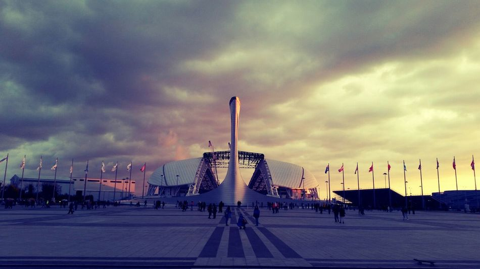 Ух горжусь Sochi Olympic Park  First Eyeem Photo