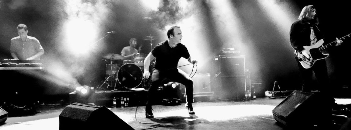 Future Islands @ O2 ABC - Glasgow 04/11/2014 FutureIslands Artist Arts Culture And Entertainment Concert Entertainment Occupation Event Group Of People Indoors  Men Music Musical Equipment Musical Instrument Musician Nightlife People Performance Playing Popular Music Concert Real People Rock Music Singing Skill  Stage Stage - Performance Space
