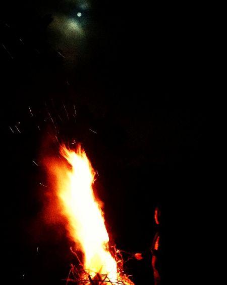 Fogueira Fire Acampar Luar Night Ibiuna Saopaulo