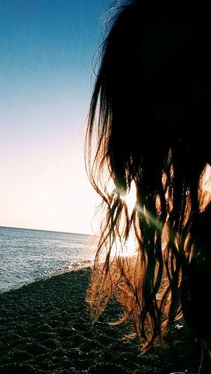 43 Golden Moments Beach Hair Sun Vacation Photography Relaxing Enjoying Life