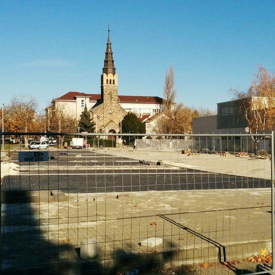 Construction site Construction Site Temple Church Square