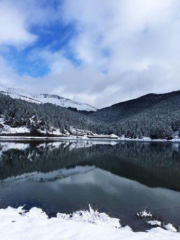 Cold Temperature Winter Snow Scenics Mountain Tranquil Scene Nature