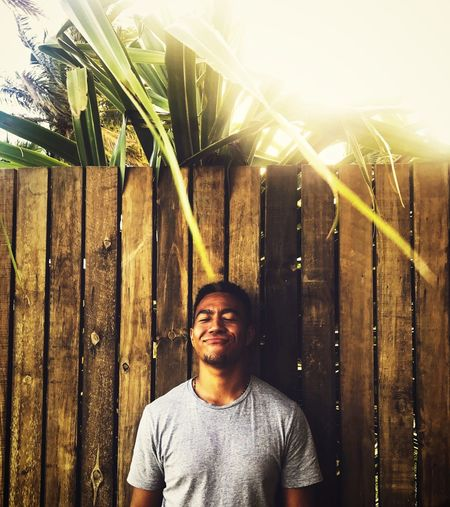 Happiness starts from within 🚀✨ Fiji Sunset Love One Person Real People Front View Lifestyles Leisure Activity Casual Clothing Plant Nature Portrait Smiling Sunlight EyeEmNewHere This Is My Skin #FREIHEITBERLIN The Street Photographer - 2018 EyeEm Awards The Portraitist - 2018 EyeEm Awards Be Brave #urbanana: The Urban Playground Summer In The City