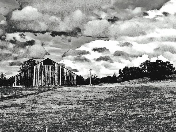Popular Photos Farm Barn Black And White Black & White Blackandwhite Clouds And Sky Sky And Clouds Cloudporn Clouds