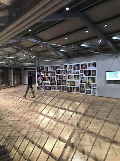 Exhibition Milano Italy OsservatorioPrada Photogaphy Prada Reflections Rooftop Woodfloor