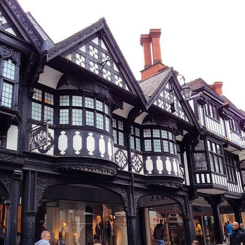 Fantastic Tudor building design Tudor Tudorbuildings Bnw Chester