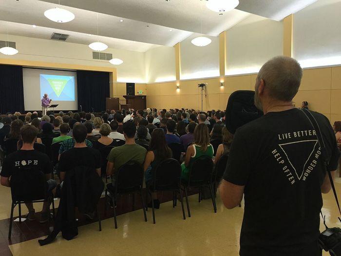 LiveBetter HelpOften WonderMore CommunityValues SundayAssembly Sunday Assembly Sunday Assembly Los Angeles Atheism Atheists GoodWithoutGod