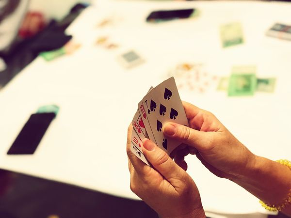 The fan of Hope. Blackjack Luck Playing Cards Casino Poker Gambling Human Hand Luck Human Body Part Leisure Games Playing Chance Leisure Activity Cards People EyeEmNewHere