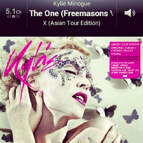 Can you hear me? I'll do anything to have you near me. I'm the one! KylieMinogue Theone X Xtour