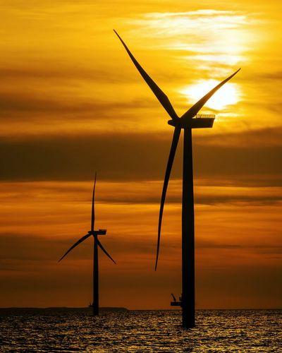 Windmills at