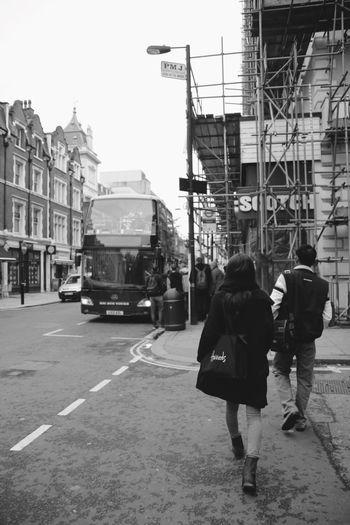 On my way London Big Bus Station