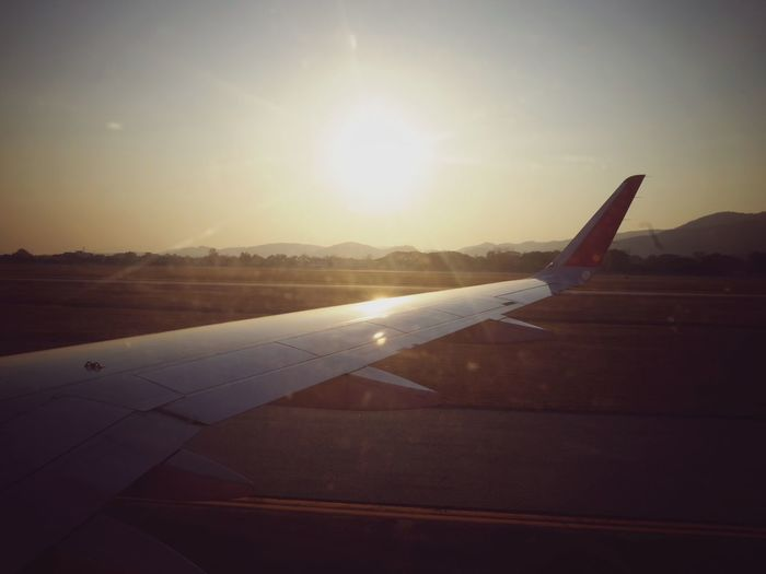 Airplane Journey