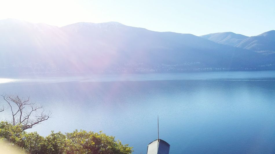 Mountain Water Lake Landscape Reflection Scenics Nature Outdoors No People Beauty In Nature Sky Sunset Day Wiew Vista Panorámica Vista Beauty In Nature Nature EyeEmNewHere