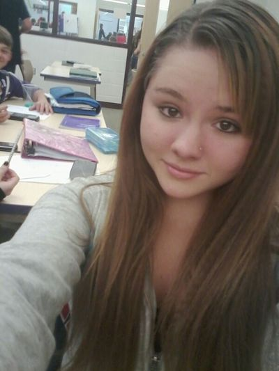 Smile Boring Class Old Picture Long Hair, Don't Care.
