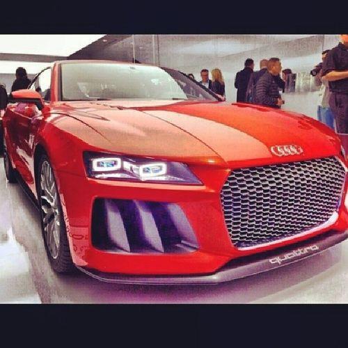 Audi sport quattro concept Audi Concept Quattro 700hp car red nice