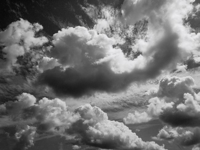 P0rn Bw Cloud - Sky Sky Backgrounds Full Frame Low Angle View Beauty In Nature Nature No People Cloudscape Tranquility Outdoors Scenics - Nature Heaven Meteorology Day