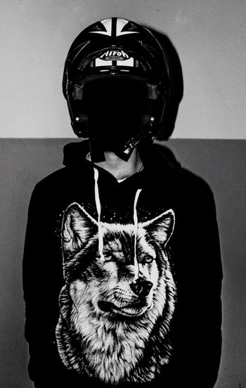 Motorcycle Racing Biker One Man Only Casque Pets Domestic Animals One Animal Mammal Domestic Cat Animal Themes Indoors  Animal Dog Feline One Person People Day 💀 NO FACE