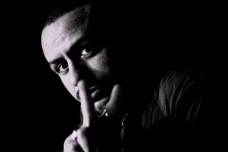 Black Background Mid Adult One Person Portrait Worried Adults Only Young Adult Headshot Adult Looking At Camera Human Face One Man Only Studio Shot Human Body Part Day Only Men Close-up Relationship Difficulties Indoors  People