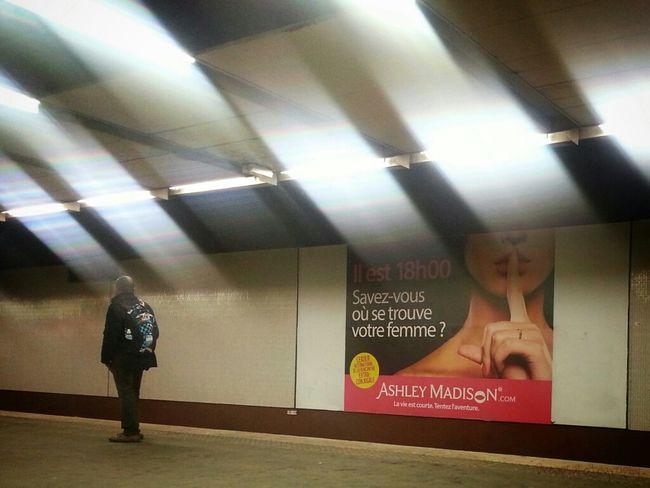 Streetphotography Metro Subway Metro Paris Eye4photography