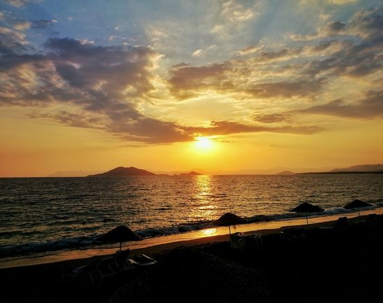 Sunset Sea Water Horizon Over Water Beach Scenics Tranquil Scene Tourism Sun Tranquility Beauty In Nature Vacations Shore Idyllic Travel Destinations Majestic Non-urban Scene Sky Seascape Travel Nerede Calisbeach Fethiye Muğla Turkey