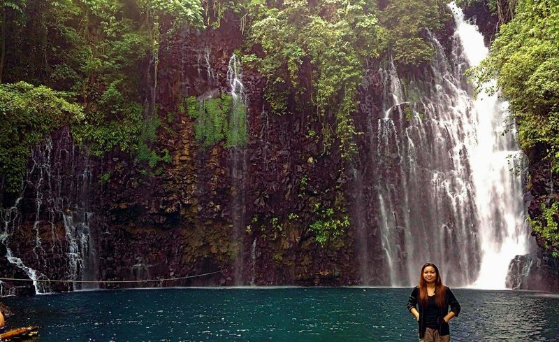 Birthday Trip! Tree Water Wet Splashing Adults Only Outdoors Nature Full Length Only Women Beauty In Nature One Person One Woman Only People Women Motion Swimming Vacations Waterfalls Philippine Sceneries Iligan City Tinago Falls
