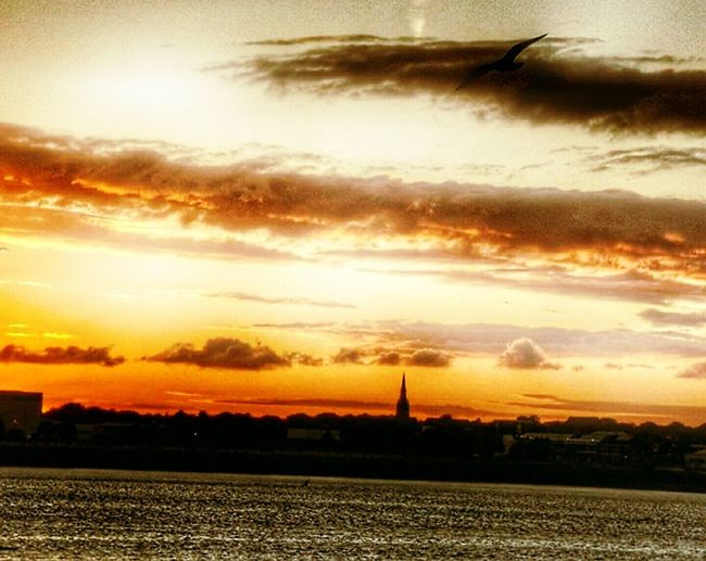 Sunset Dramatic Sky No People Sky Cloud - Sky Tranquility Beauty In Nature Nature Scenics Silhouette Outdoors Wind Power Wind Turbine Windmill Day Liverpool England Takeing Photo City Storm Cloud Dramatic Sky Night Walk Around The Town Taking A Bath