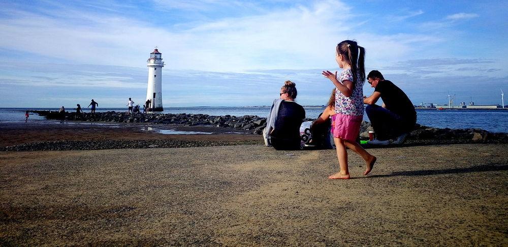 Wow-ing Newbrightonbeach Beach Lighthouse The Week On EyeEm