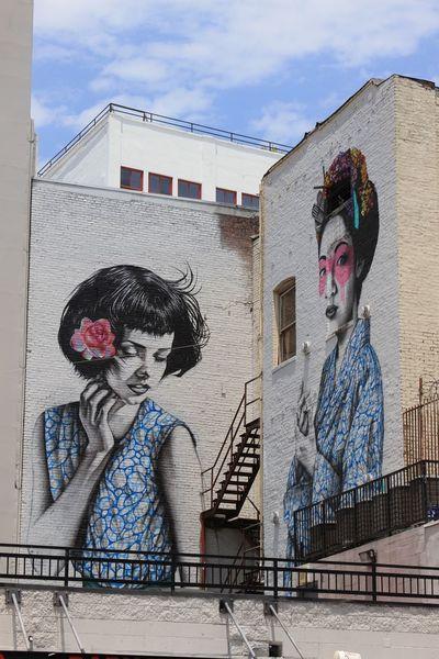 Losangeles Los Angeles, California DowntownLA Streetphotography Streetart Graffiti Brick United States Urban City Vertical